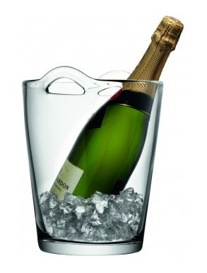 LSA Bar Collection Glass Champagne Bucket - 3.2L