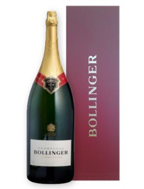 Bollinger Methuselah Special Cuvée Champagne NV 600cl Red Gift Box