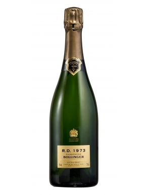 Bollinger RD 1973 Vintage Champagne 75cl Wooden Gift Box