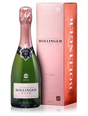 Bollinger Champagne Rose Half Bottle NV 37.5cl Gift Box