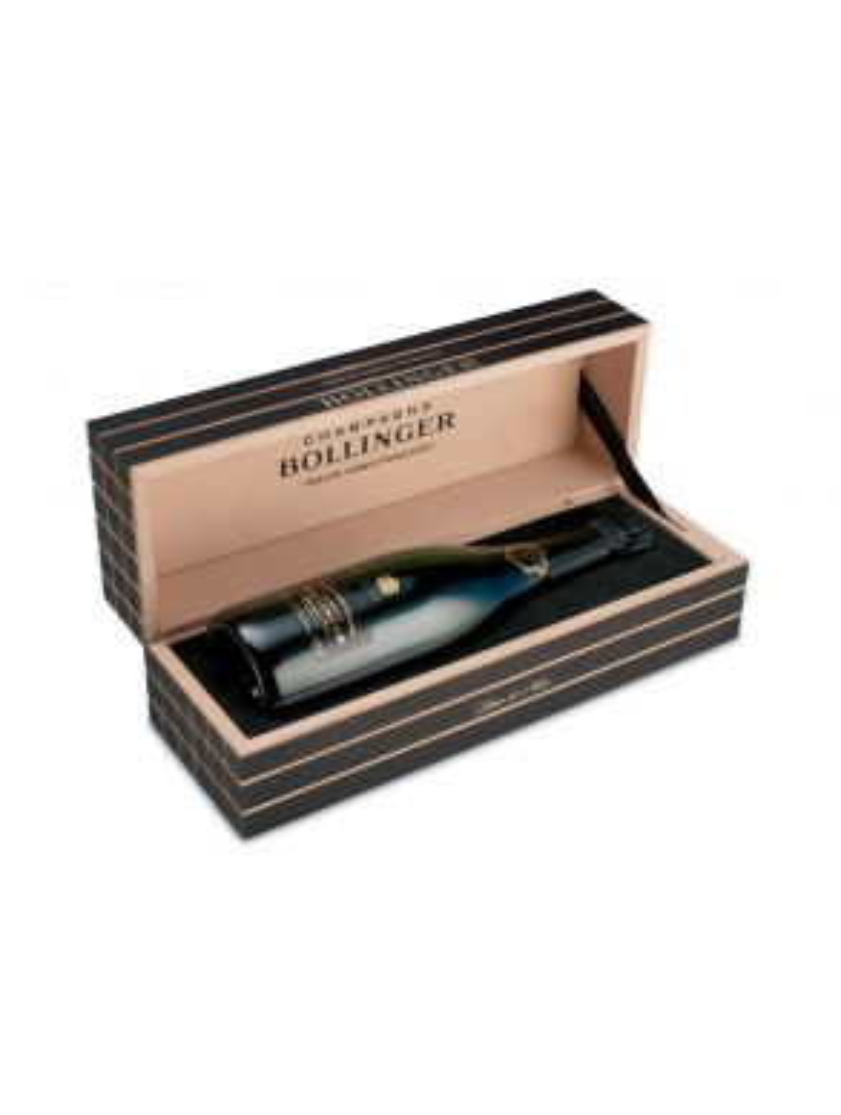 Bollinger Vieilles Vignes Francaises Champagne 2004 75cl Wooden Gift Box
