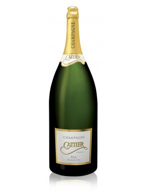 Cattier Balthazar Premier Cru Brut Champagne NV 1200cl Wooden Box