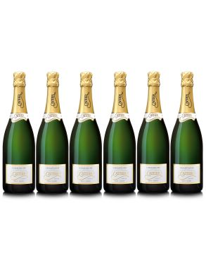 Cattier Icone Brut Non Vintage Champagne Case Deal 6 x75cl