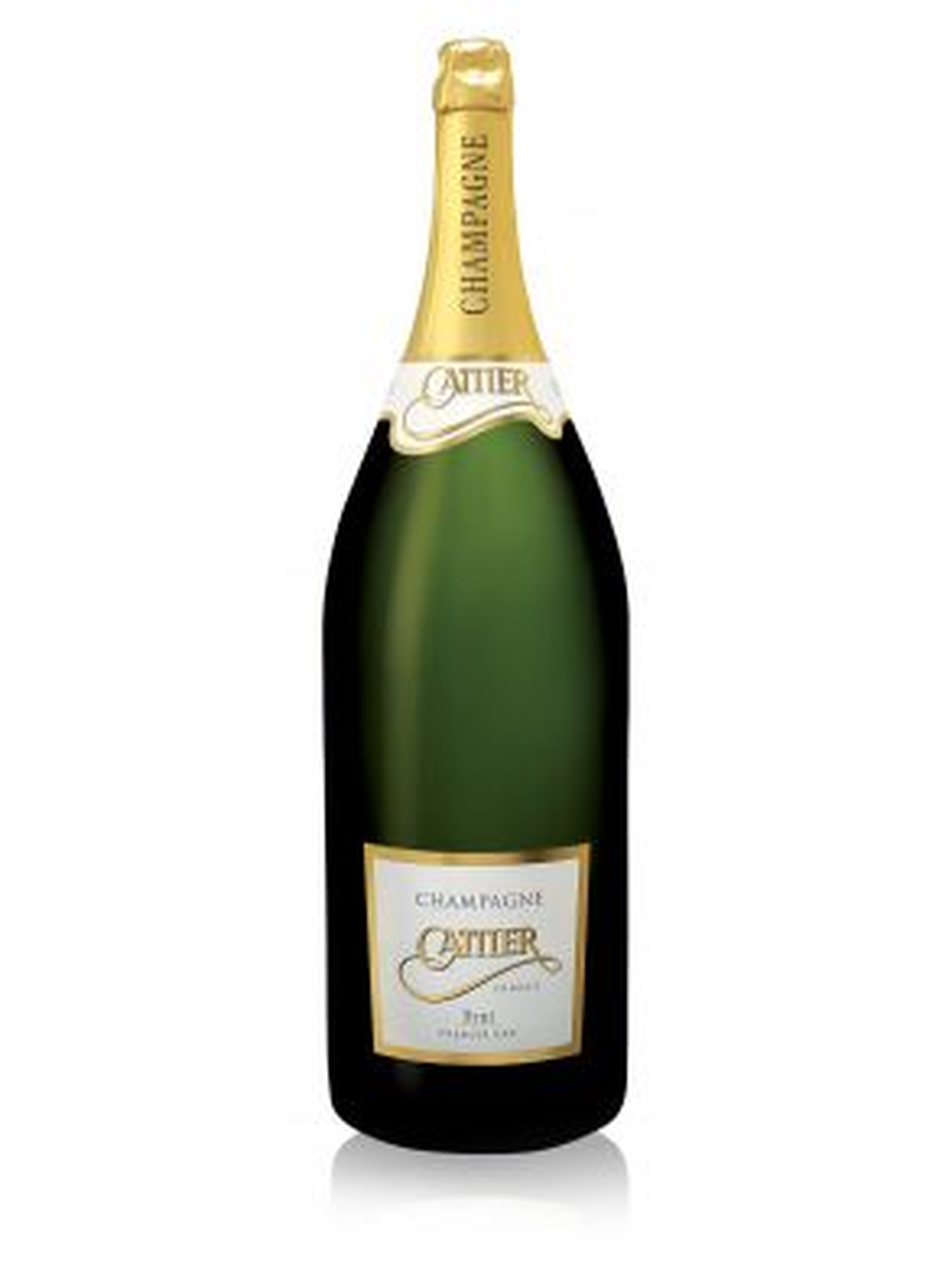 Cattier Nebuchadnezzar Premier Cru Brut Champagne NV 1500cl Wooden Box