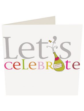 Let's Celebrate Champagne Gift Card