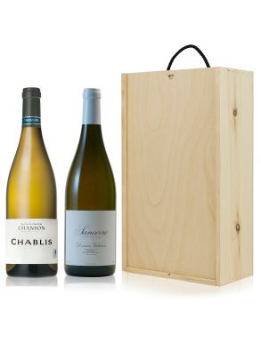 Chablis and Sancerre White Wine Gift Set Duo 75cl
