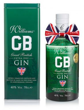 Williams Chase Great British Extra Dry Gin 70cl
