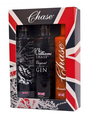 Chase Vodka Union Jack Trio Miniatures Gift Set 3x5cl