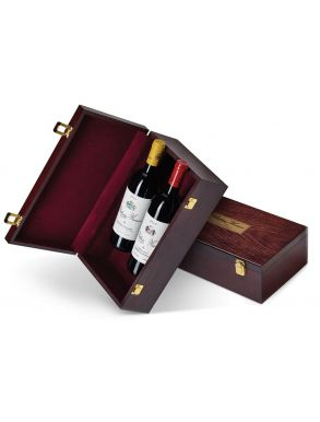 Chateau Musar 1989 Red & White Wine Lebanon Wooden Box duo 75cl