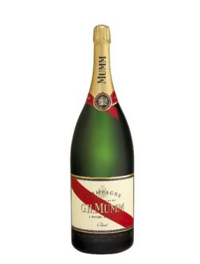G. H Mumm Methuselah Cordon Rouge NV Champagne 600cl