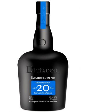 Dictador Colombian 20 Year Old Rum 70cl Gift Box