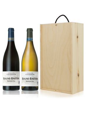 Domaine Chanson Burgundy Beaune Wine Gift Set Duo 75cl