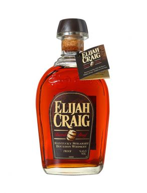 Elijah Craig 12 Year Old Bourbon Whiskey 69.4% 70cl