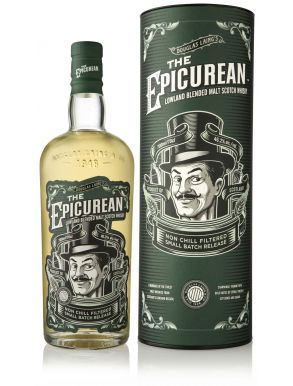 Douglas Laing The Epicurean Lowland Malt Scotch Whisky Gift Tube 70cl