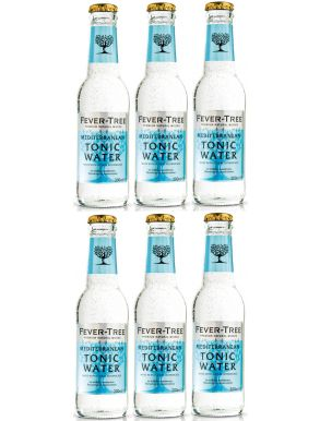 Fever-Tree Mediterranean Tonic Water 20cl x 6 bottles