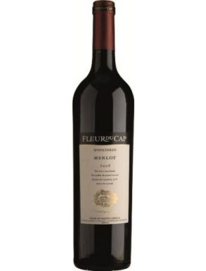 Fleur du Cap Unfiltered Merlot 2012 South Africa Red Wine