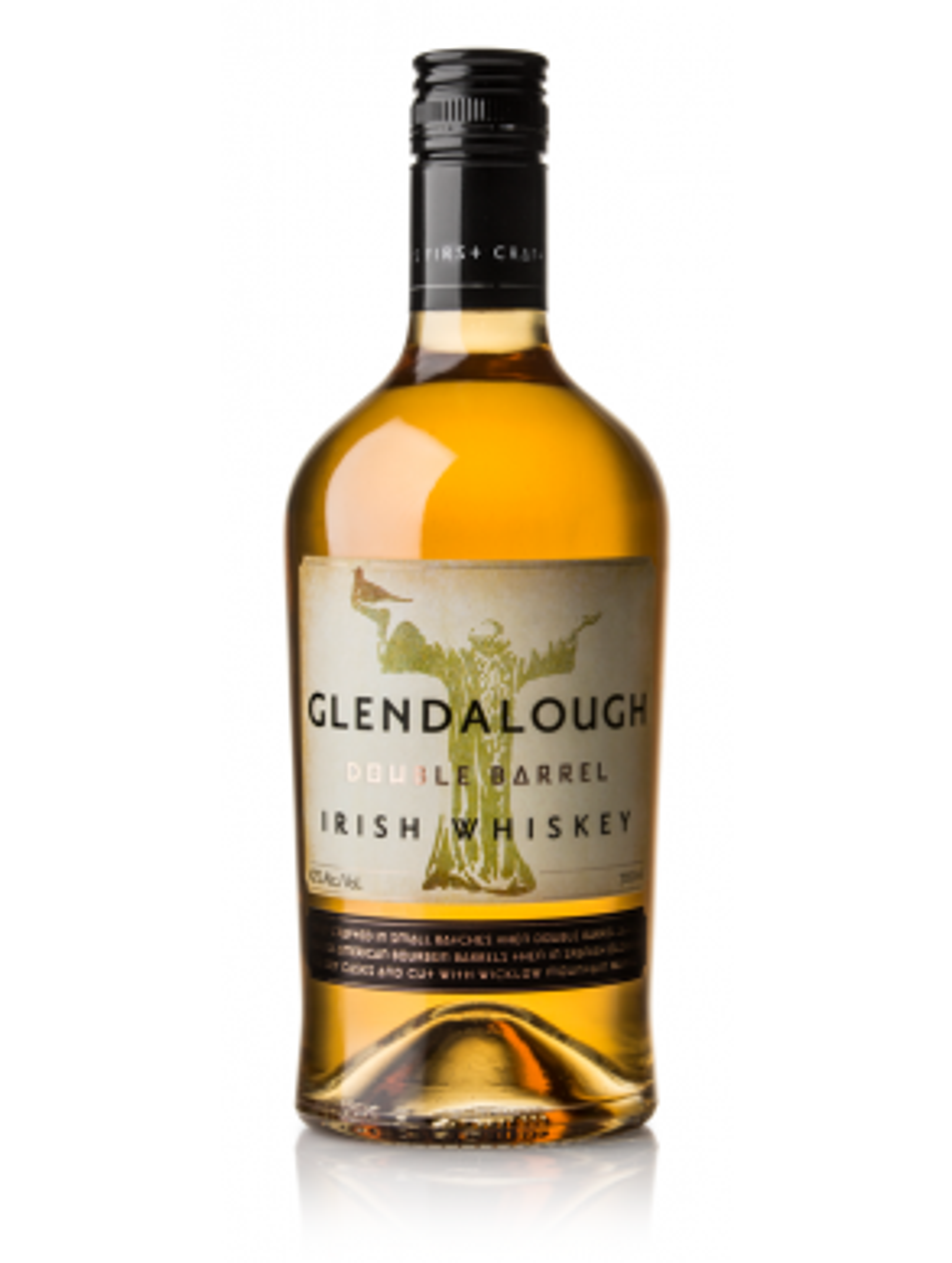 Glendalough Double Barrel Whiskey 70cl