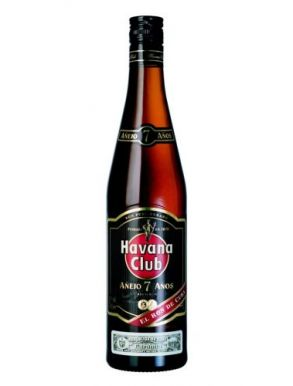 Havana Club Añejo 7 años Cuban Dark Rum 70cl