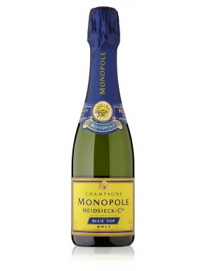 Heidsieck & Co. Monopole Brut Champagne Blue Top NV Half Bottle 37.5cl