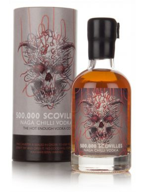 Hot Enough Vodka 500,000 Scovilles Naga Chili 20cl