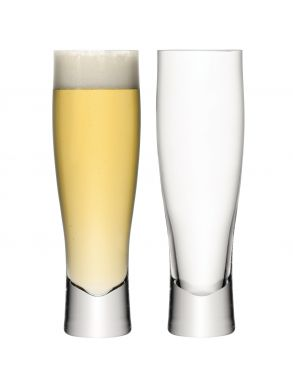 LSA Bar Collection Lager Glasses - 550ml (set of 2)