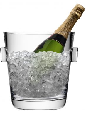 LSA Madrid Champagne Ice Bucket Glass - Clear 5.15L Gift Box