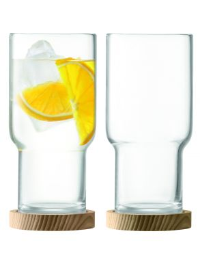 LSA Utility Highball & Ash Coasters - 390ml (Set of 2)