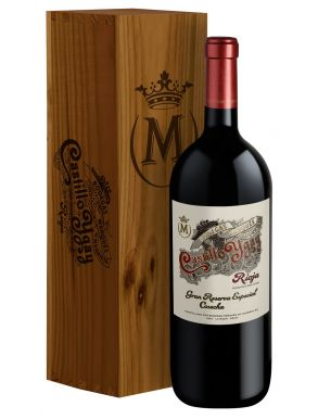 Marques de Murrieta Castillo Ygay 2007 Wine Magnum Wood Box 150cl