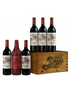 Marques de Murrieta Castillo Ygay Gran Reserva Especial 2007 Wood Case