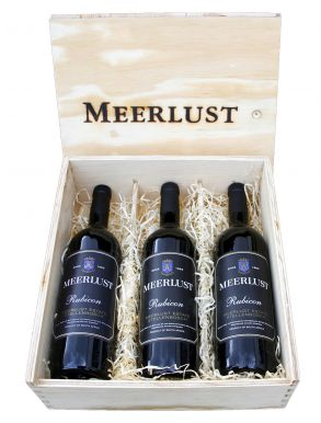Meerlust Rubicon Vintage Trilogy 2009 2010 & 2012 3x75cl Wooden Box