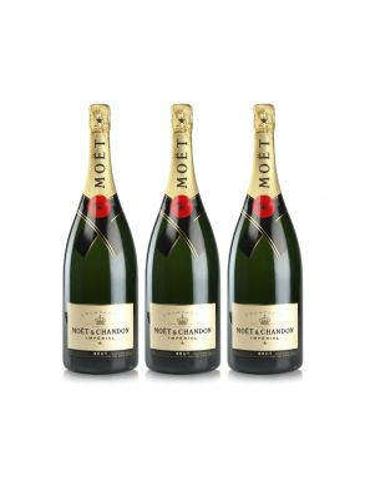 Moet & Chandon Magnum Brut Impérial Champagne 150cl NV x 3