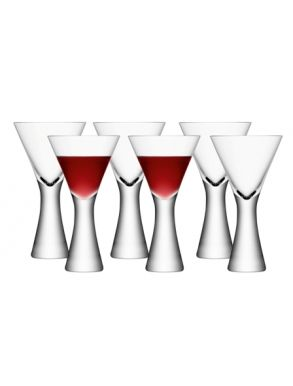 LSA Moya Wine Glass - Clear 395ml (Set of 6)