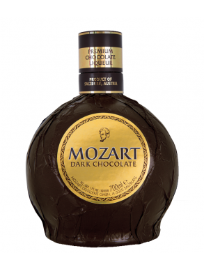 Mozart Dark Chocolate Chocolate Liqueur 50cl