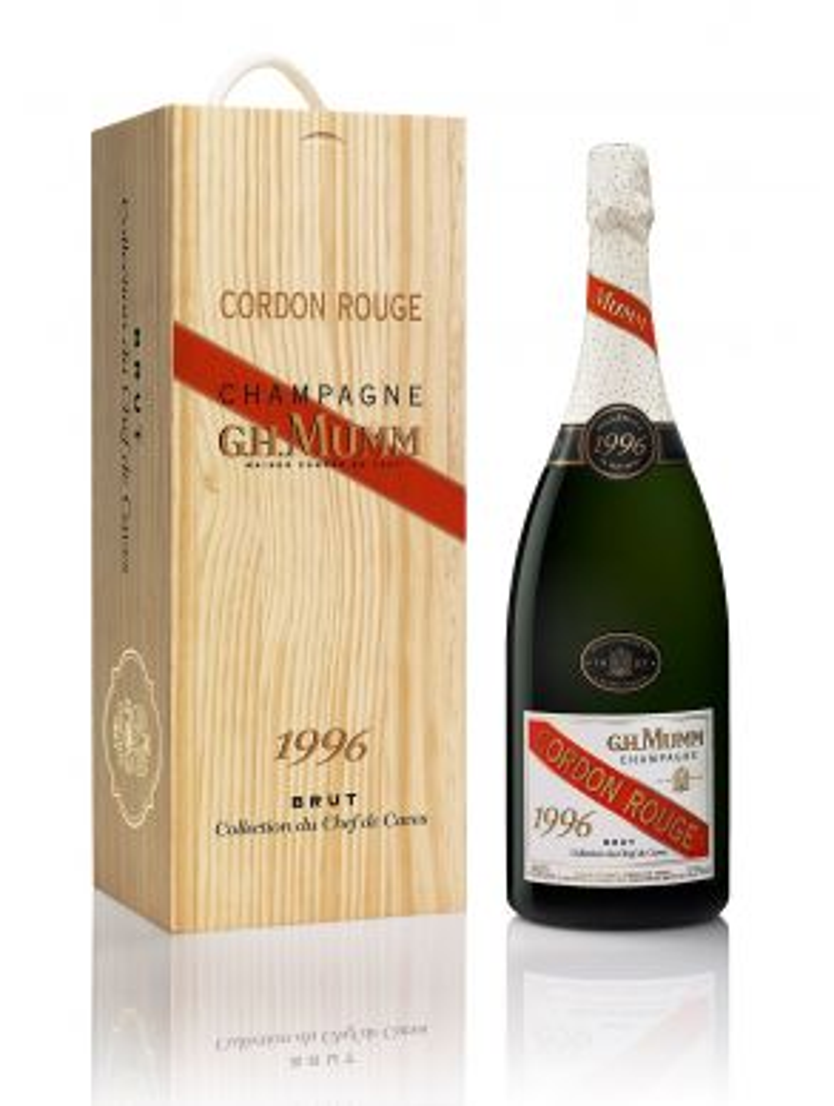G.H. Mumm Champagne Cordon Rouge 1996 150cl