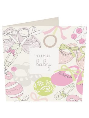 New Baby Girl Gift Card