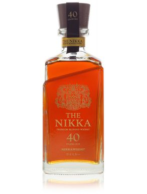 The Nikka 40 Year Old Premium Blended Whisky 70cl Wooden Box 391/1000