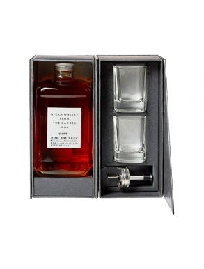 Nikka Whisky Co - Nikka from the Barrel 50cl 2 Glasses Gift Box