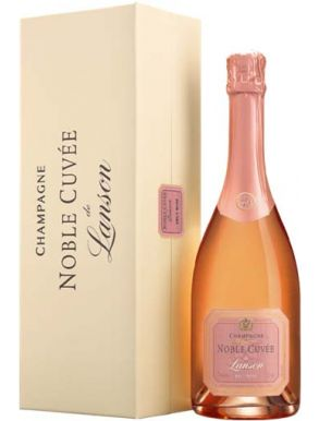 Lanson Noble Cuvée Rose Champagne 75cl Gift Box