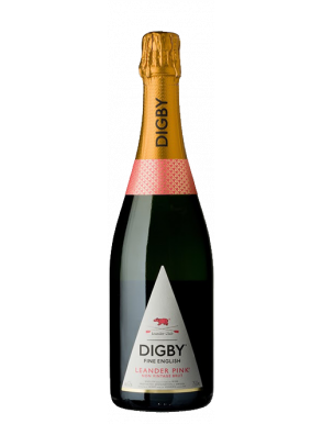 Digby Leander Pink Rose NV English Sparkling Wine 75cl