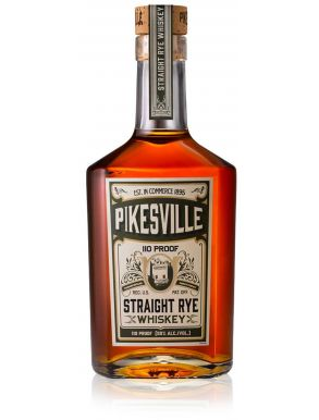 PikesVille Straight Rye Whiskey 6yr 75cl