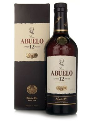 Ron Abuelo 12 Year Old 40% Rum 70cl Gift Box