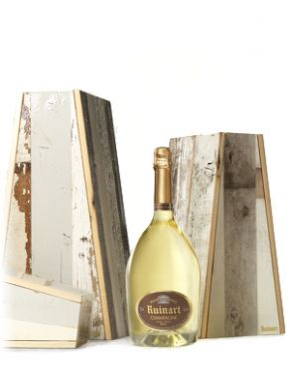Ruinart Blanc de Blancs Jeroboam Piet Hein Eek Collection Gift Box