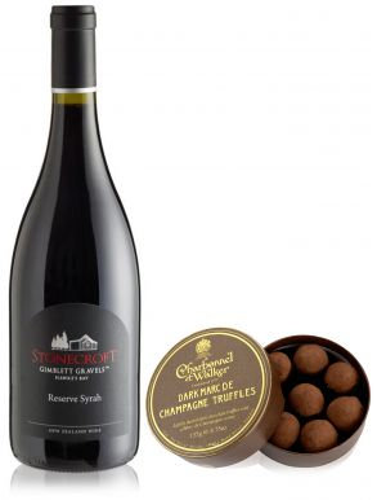 Stonecroft Hawkes Bay Reserve Syrah Red Wine & Dark Truffles 135g