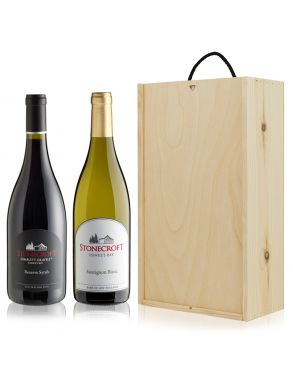 Stonecroft Hawkes Bay Wine Gift Set Duo 75cl