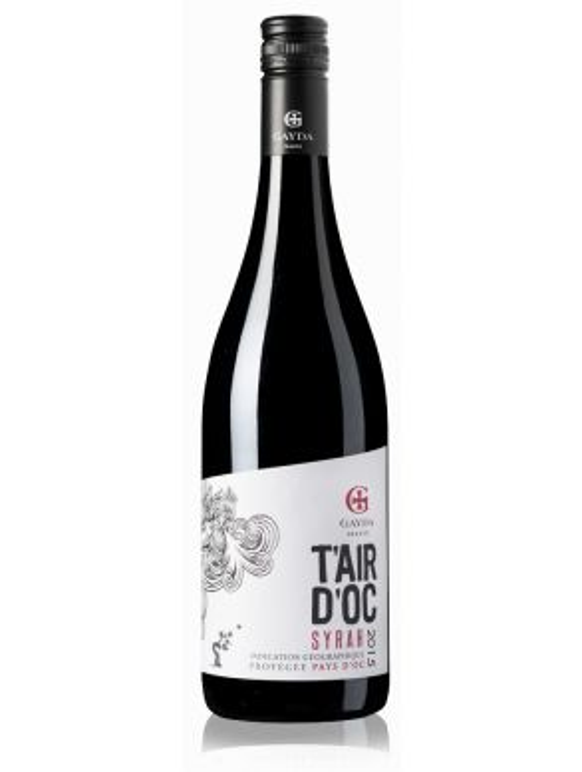 Domaine Gayda T'air d'Oc Syrah France Red Wine 75cl