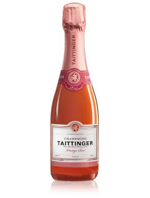 Taittinger Brut Prestige Rose Champagne NV Half Bottle 37.5cl