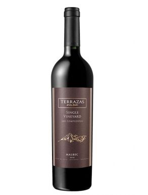 Terrazas de las Compuertas Single Vineyard Malbec 2012 Red Wine 75cl