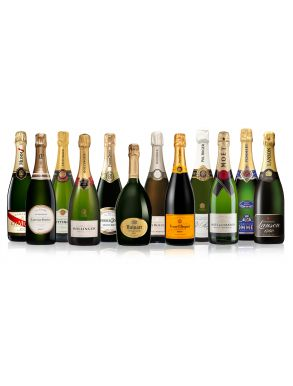 The Grande Marques Champagne Collection 12 x 75cl