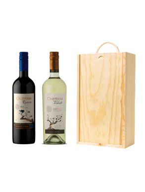 The Caliterra Wine Gift - Chile (2 Bottles & Wood Gift Box