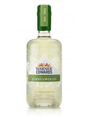 Warner Edwards Harrington Elderflower Gin 70cl